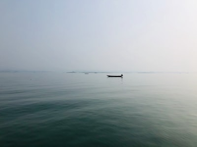 boat on sea under foggy weather bangladesh zoom background