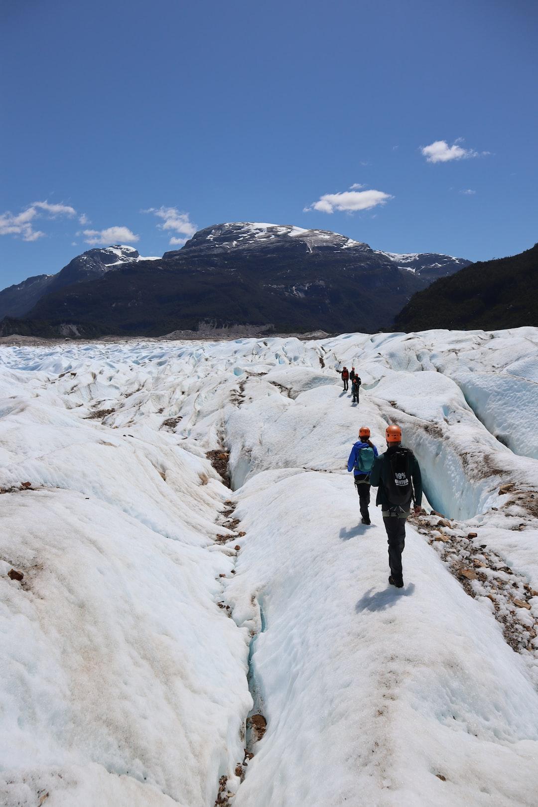 glaciar exploradores, Chile
