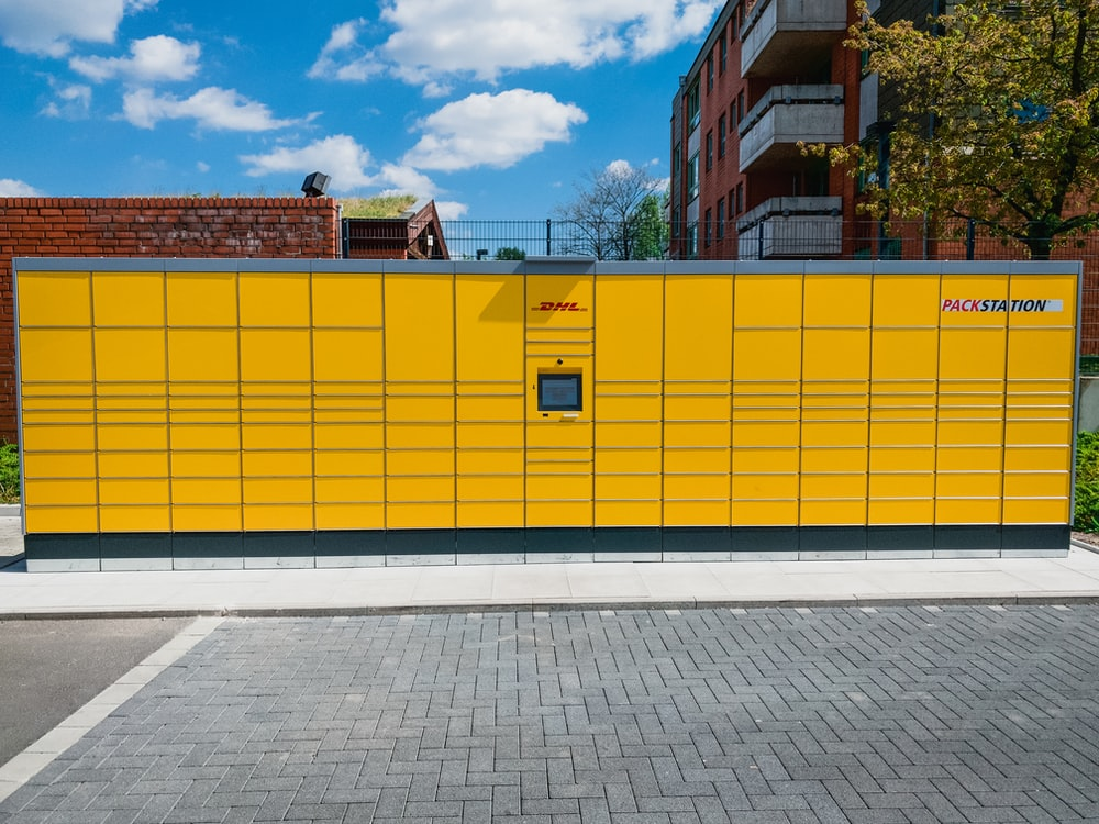 yellow and brown concrete building