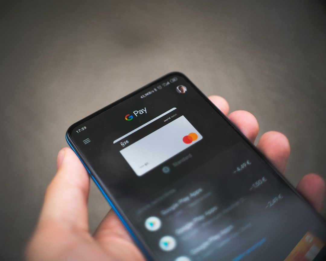 Google Pay with a N26 credit card attached.