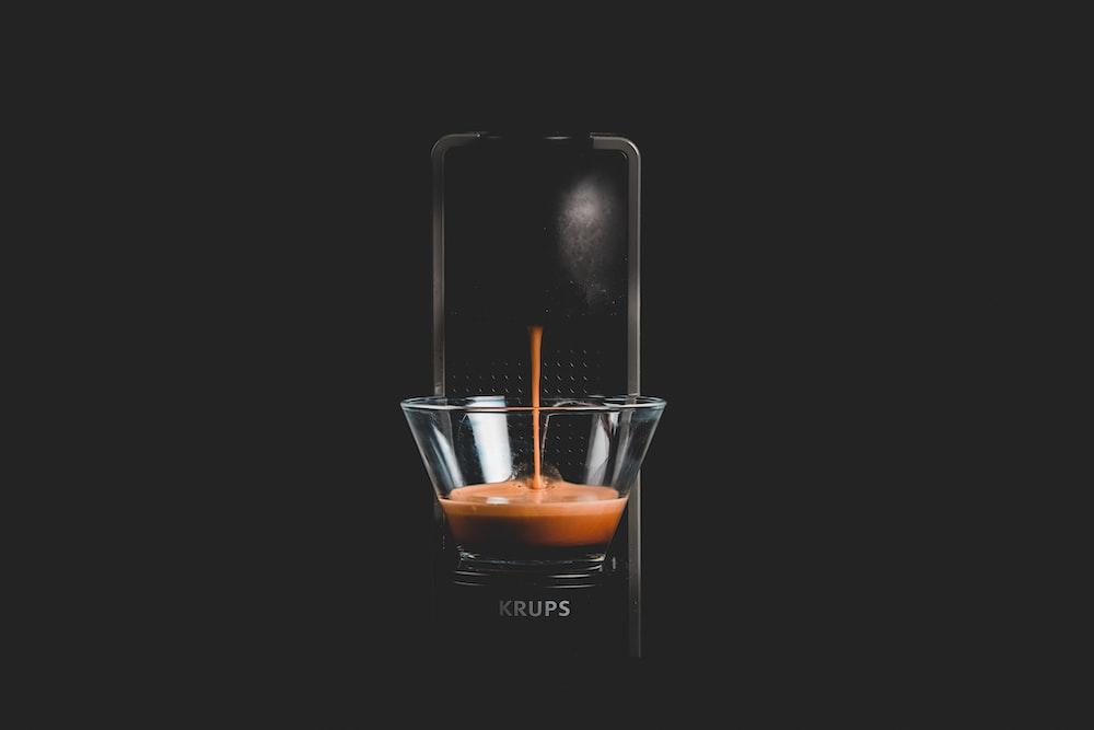 Black Espresso Home Machine