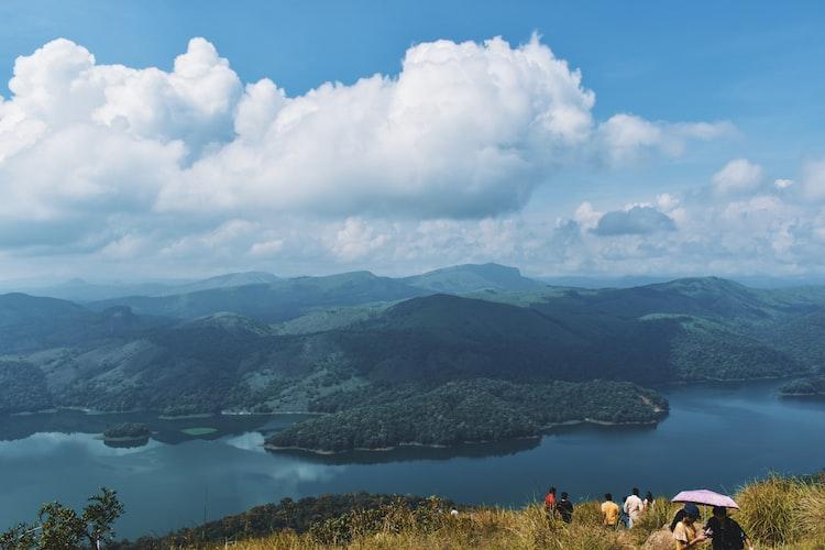 Hills of Idukki in Kerala