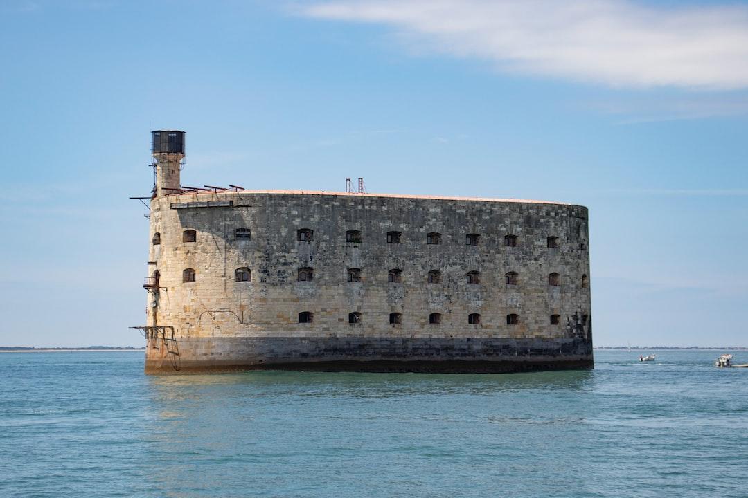 Fort Boyard from the sea