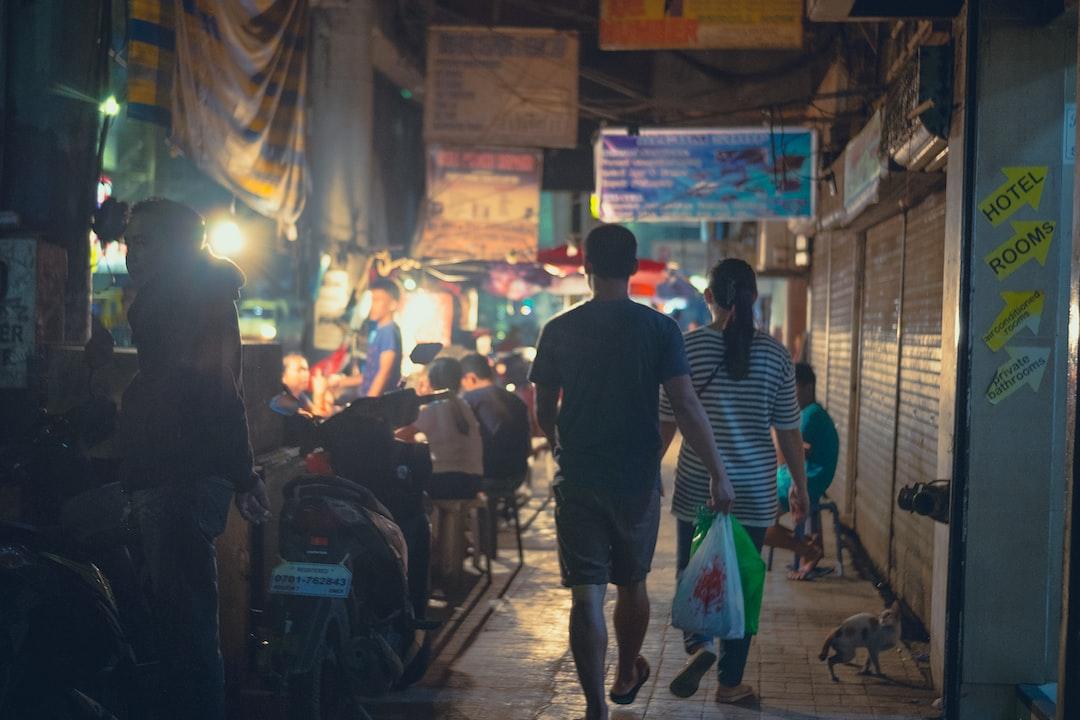Colon street. City. Philippines. Cebu.