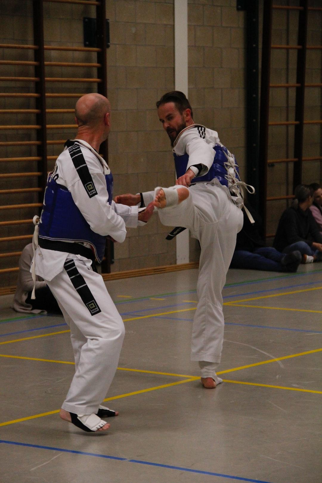 Taekwondo sparring practice. #Better times.