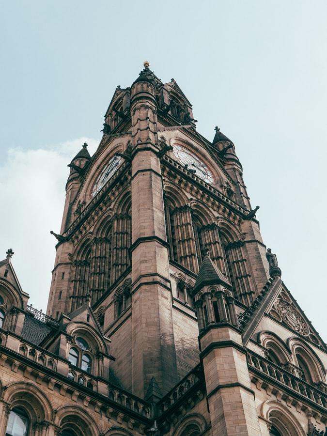 Manchester Town Hall tower