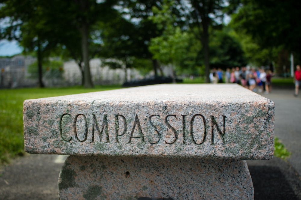 Compassion can be developed through mindfulness.