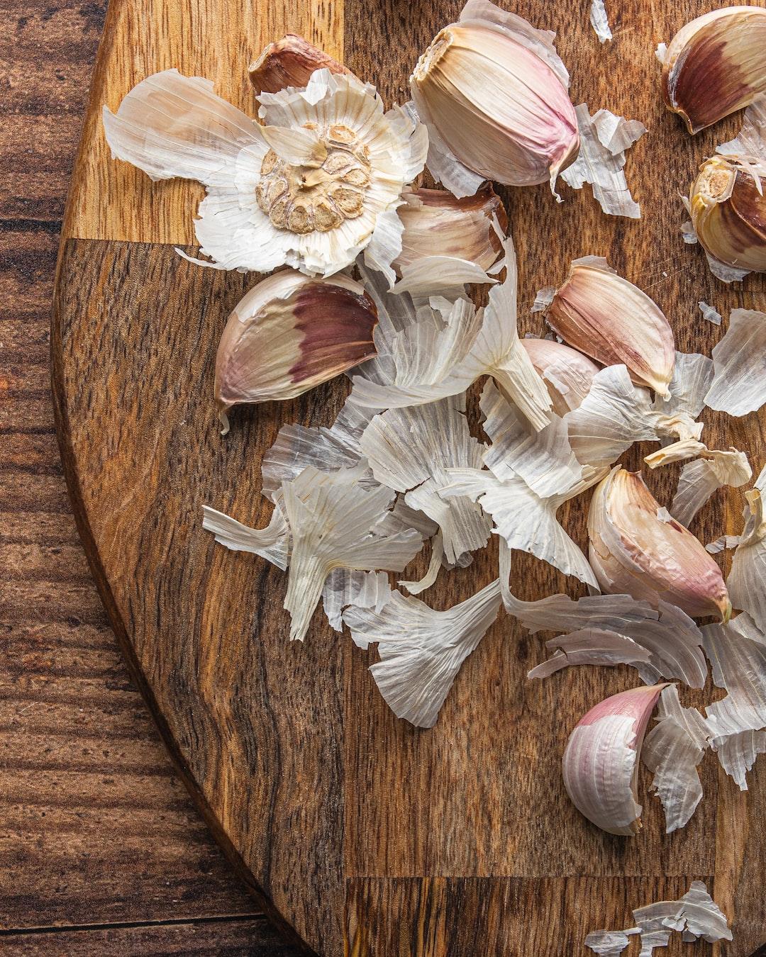 Was hilft gegen Knoblauchgeruch?