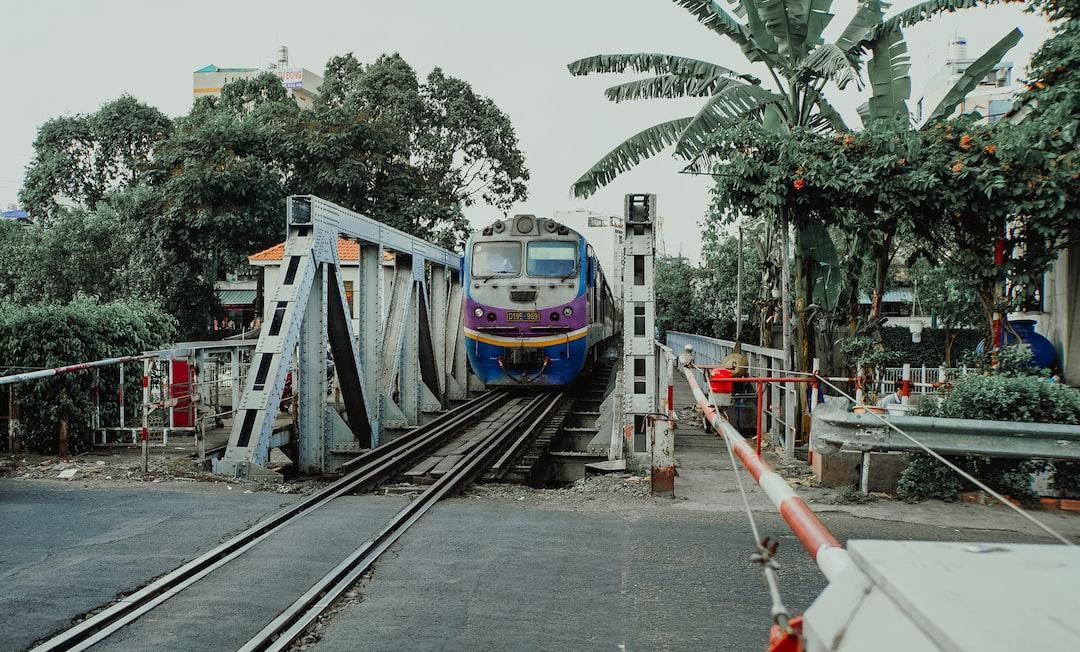 Saigon train street 🚇