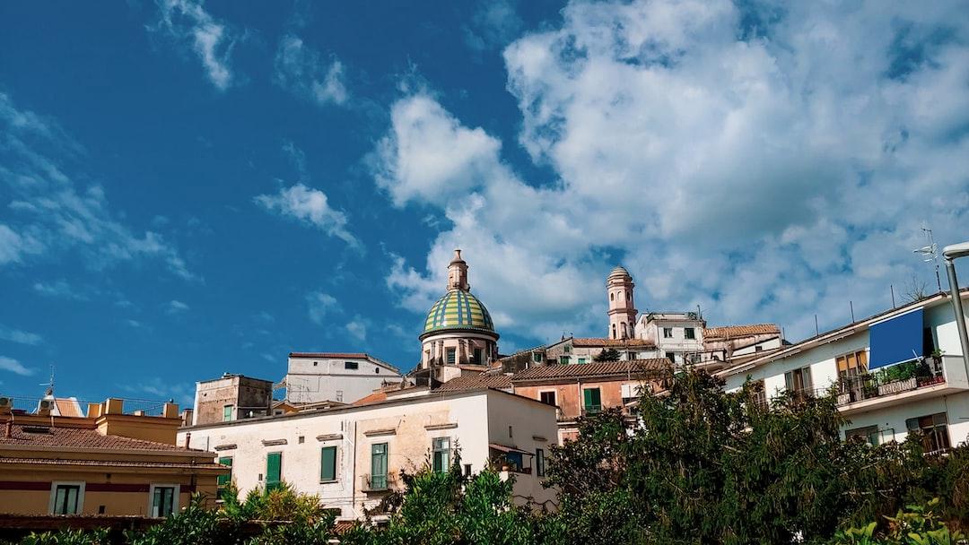 The Dome of Vietri sul Mare