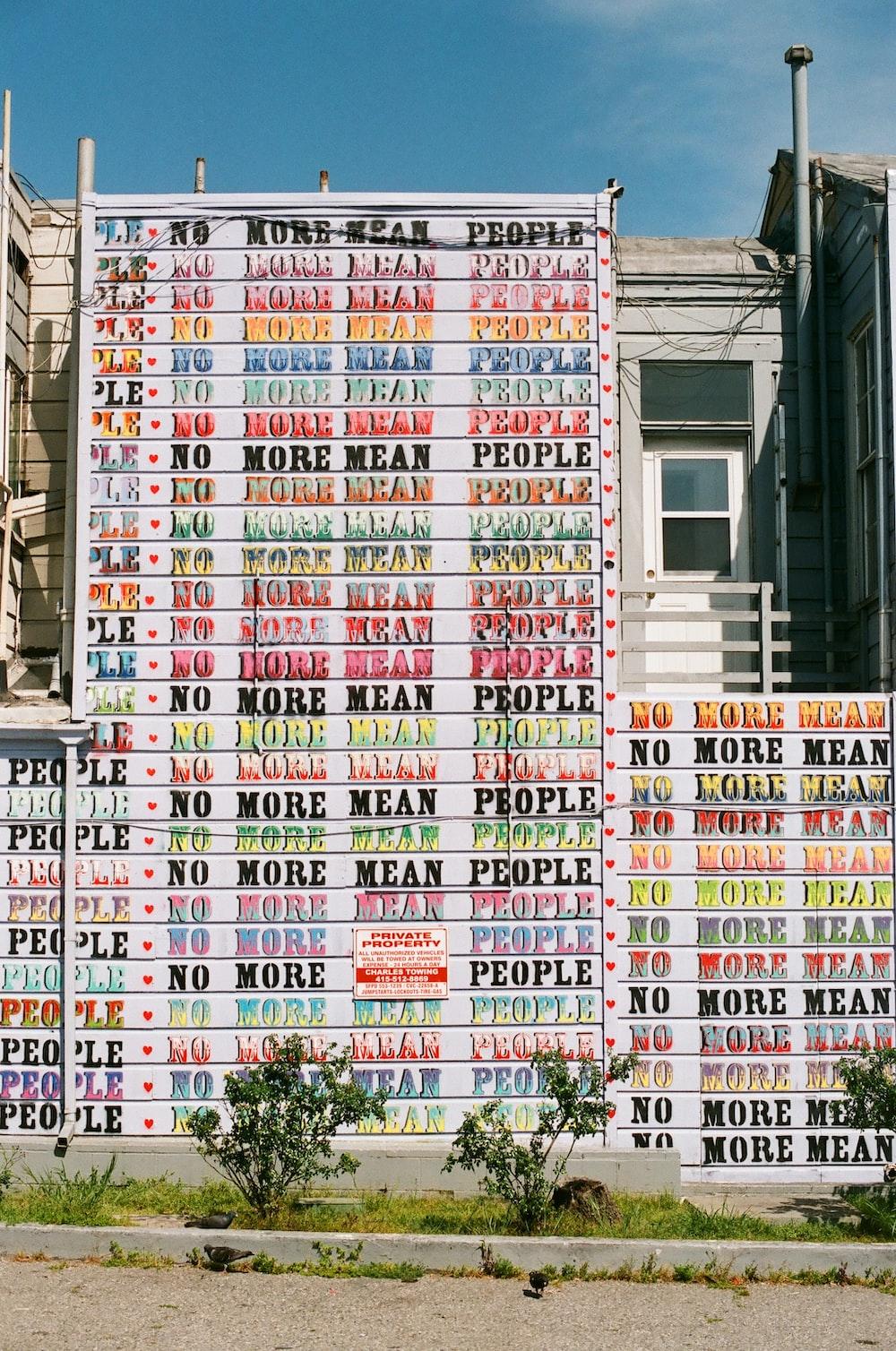 text print wall