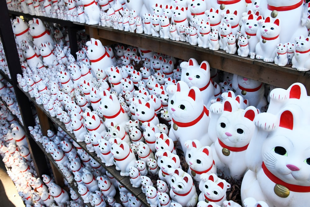 white and red hello kitty plush toy collection