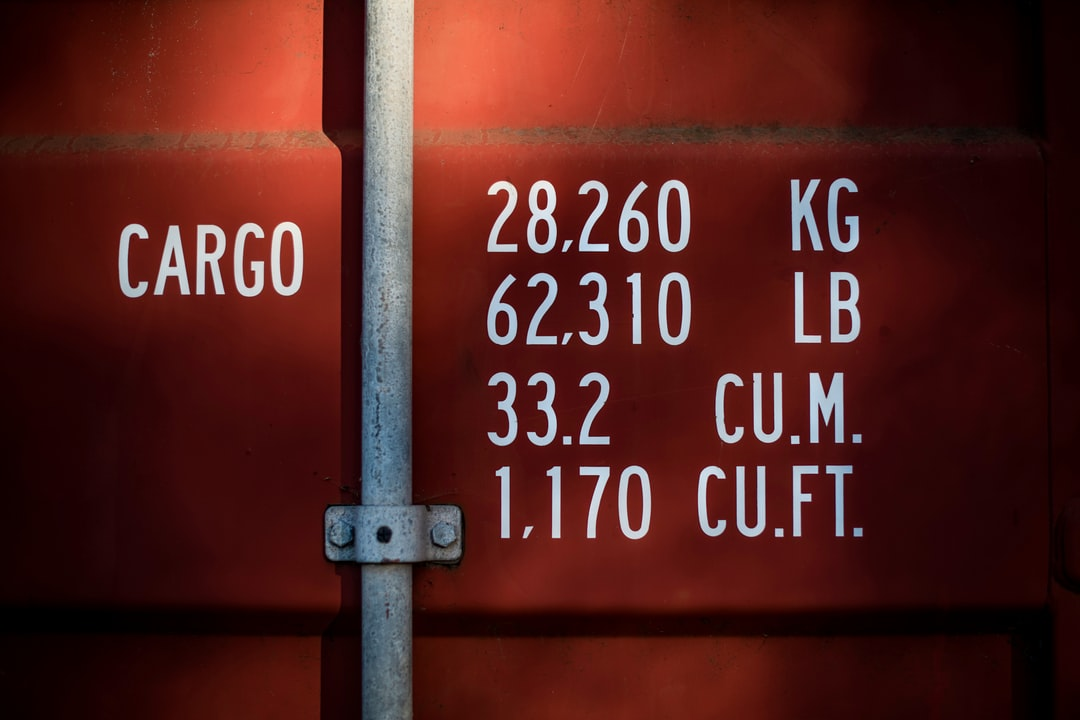 Shipping Container Typography
