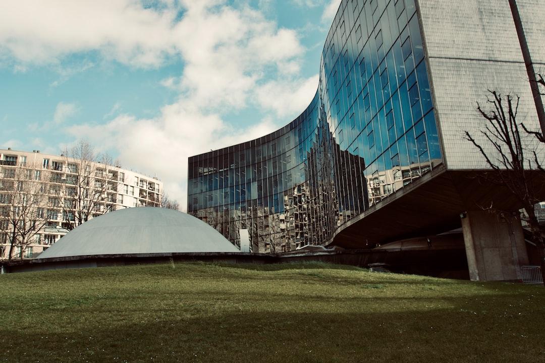 Oscar Niemeyer, Headquarters of the Communist Party in Paris  photo made by rouichi / switzerland
