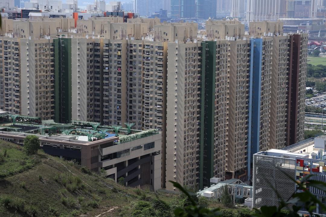 Seac Pai Van public housing quarters