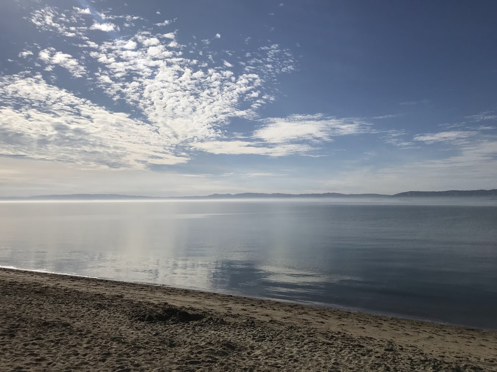 calm sea under blue sky during daytime