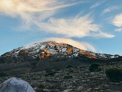 Kilimanjaro Besteigung - Barranco Camp 3960m - Karanga Camp 4035m