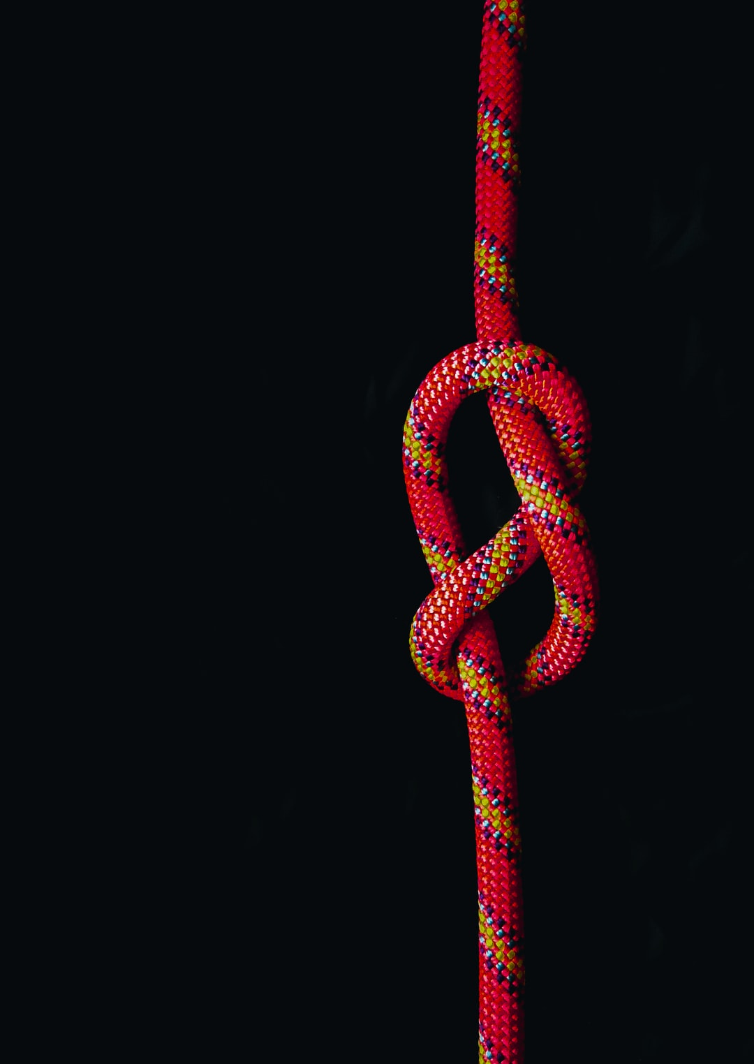 Single Rope Knot eight