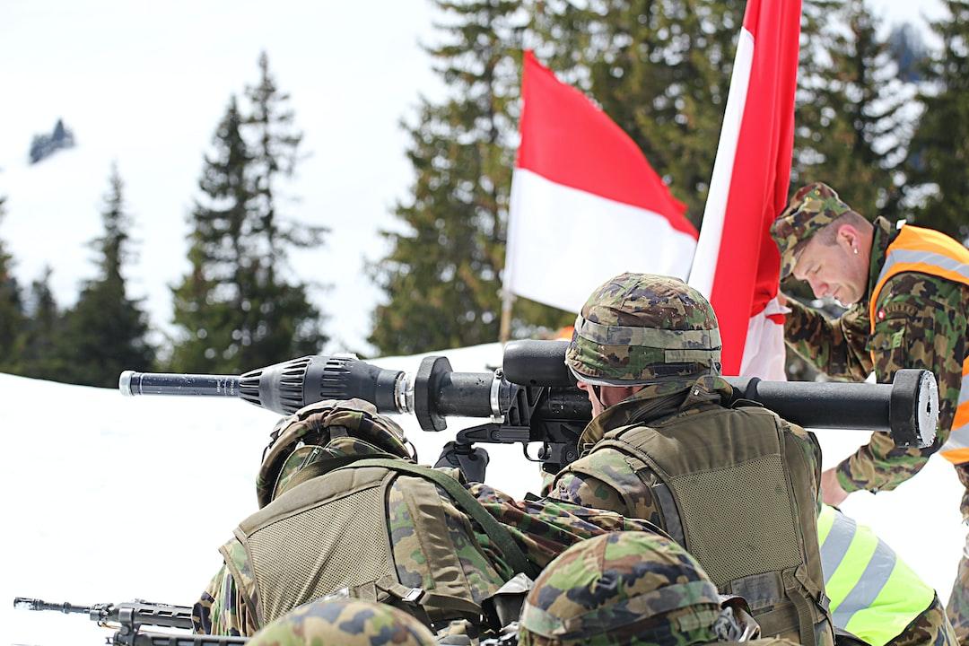 Soldiers with an anti-tank-gun (Bazooka)