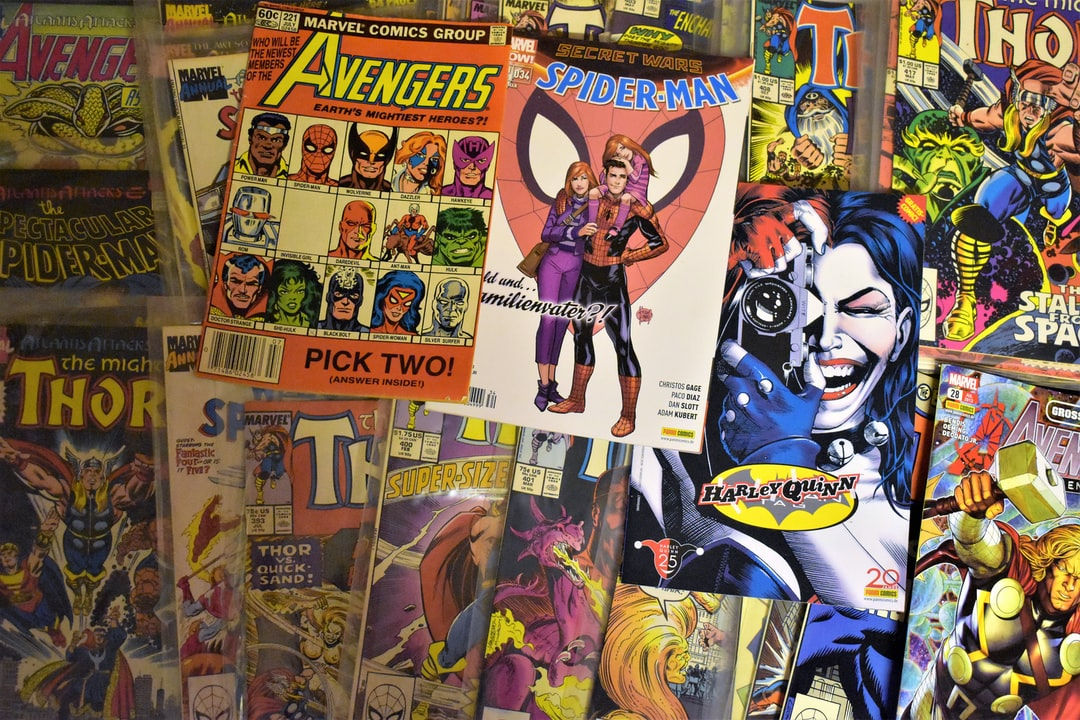 Comic Books From The Past in My Private Own Comic Shop Basement