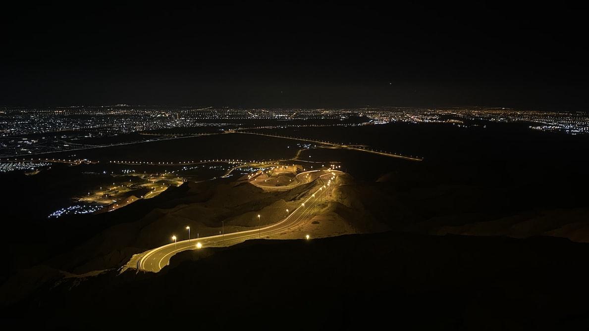 Roads of Jebel Hafeet