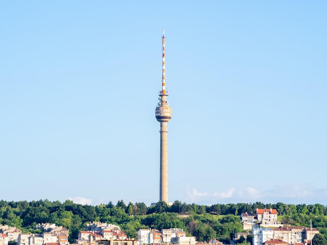 TV Tower in Ruse, Bulgaria.