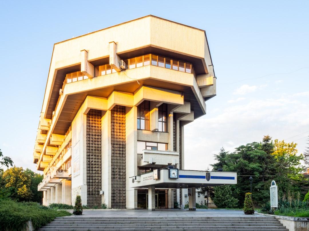 Municipality Hall in Ruse, Bulgaria.