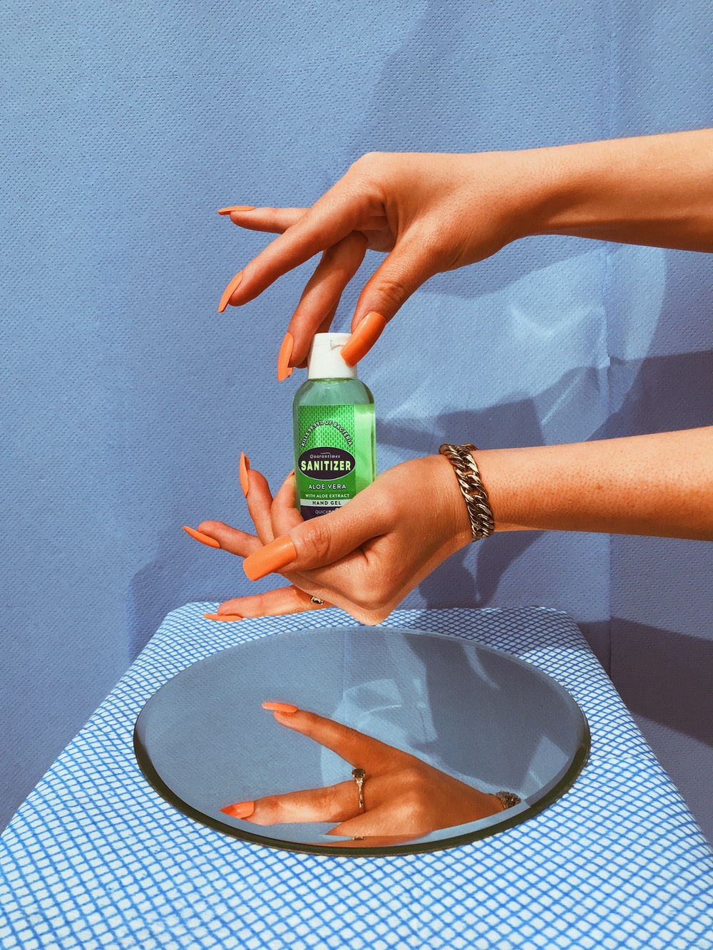 Be wise, sanitize.