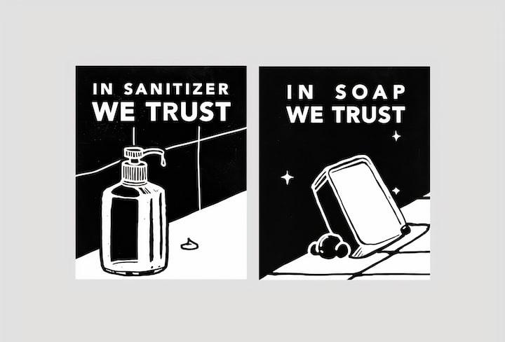 Of Sanitiser and Sanity