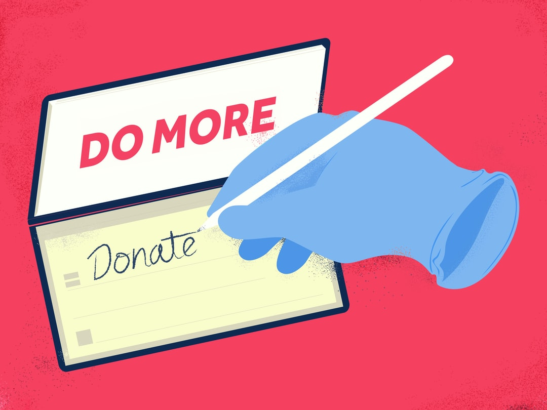 Do more - Donate. Image created by Kyle Mueller. Submitted for United Nations Global Call Out To Creatives - help stop the spread of COVID-19.