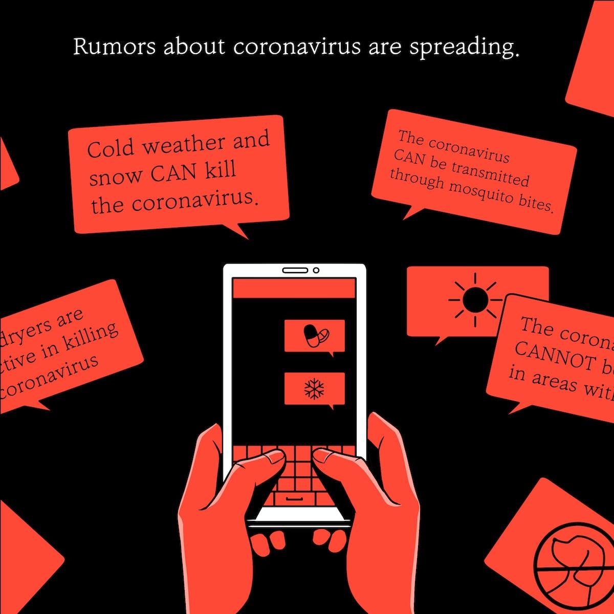 Gerüchte rund um das Coronavirus verbreiten sich besonders schnell.