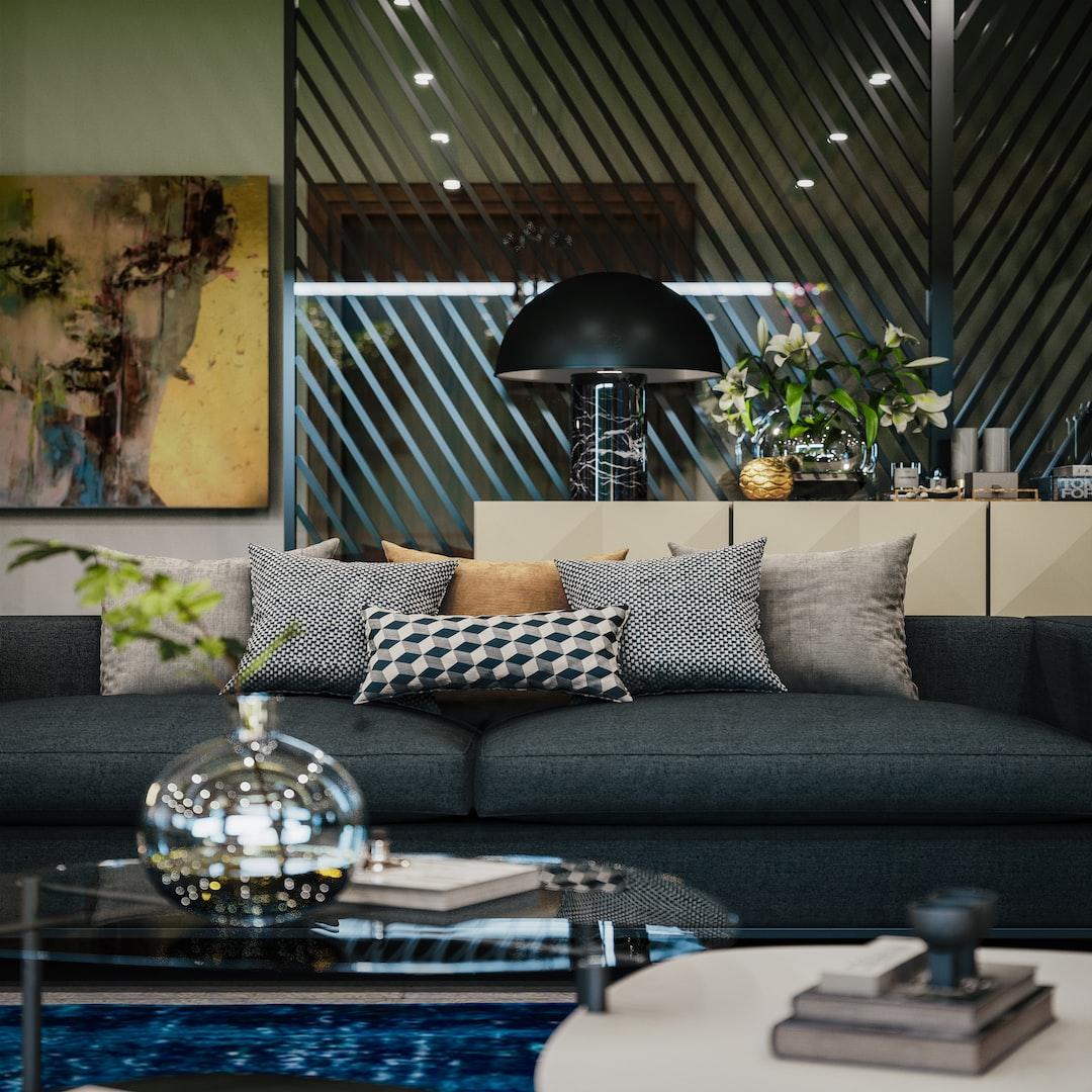Modernist Villa Interiors ( All copyrights to the Designer PASTMODERN Kuwait )