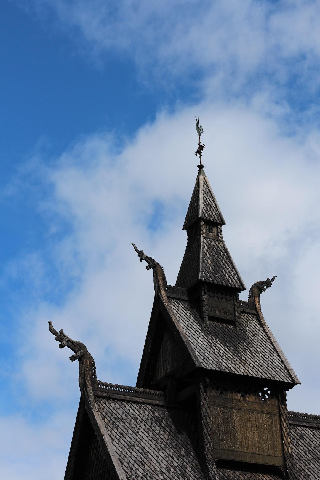 Hopperstad Stavkirke (Stave Church), Vik i Sogn, Norway