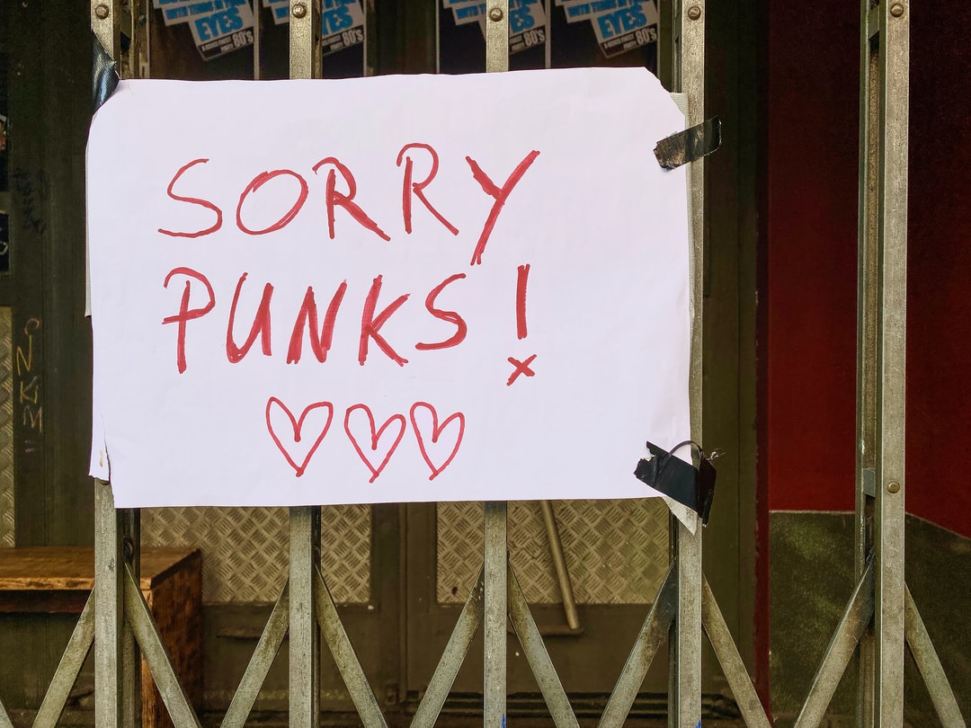 SORRY PUNKS – no concerts at famous SO36 in Berlin-Kreuzberg