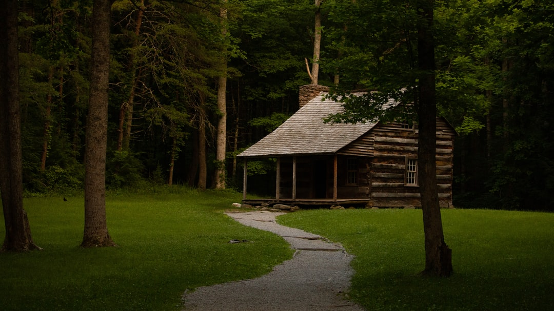 Carter Shield's Cabin - Cades Cove - Great Smoky Mountains National Park