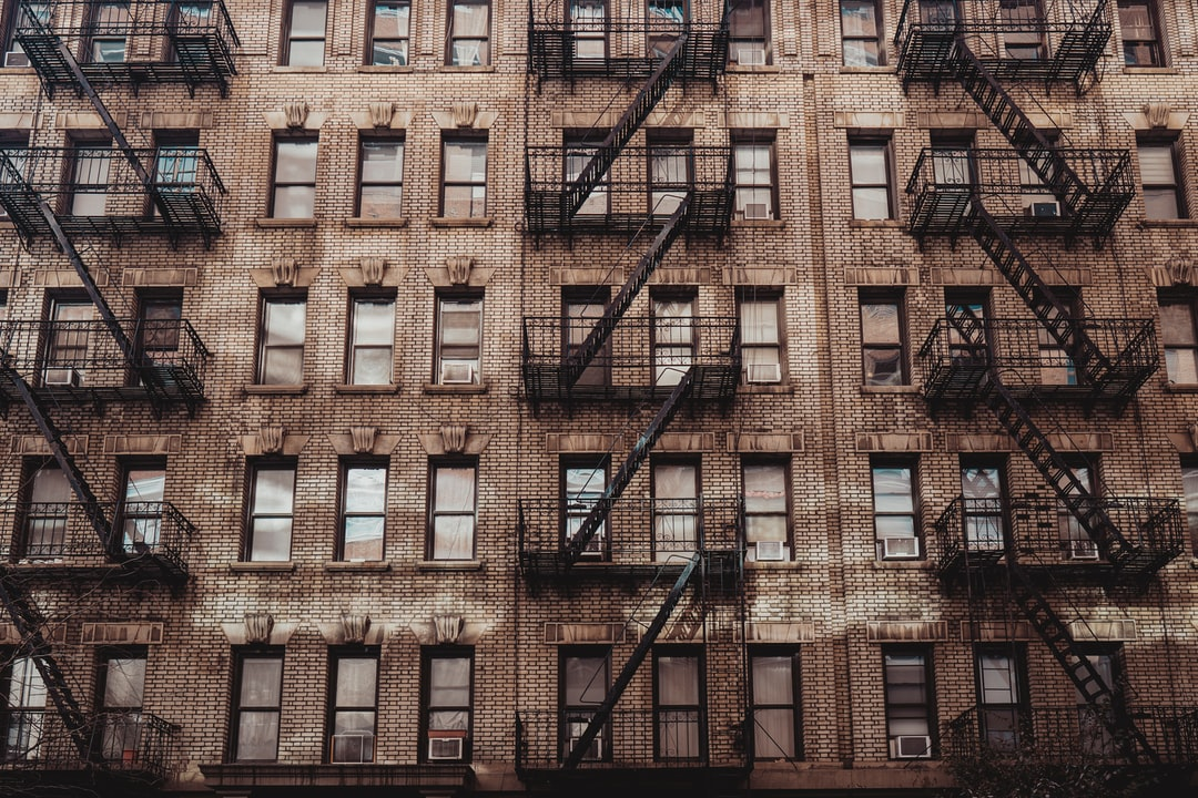 Apartments in Greenwich Village, New York City.