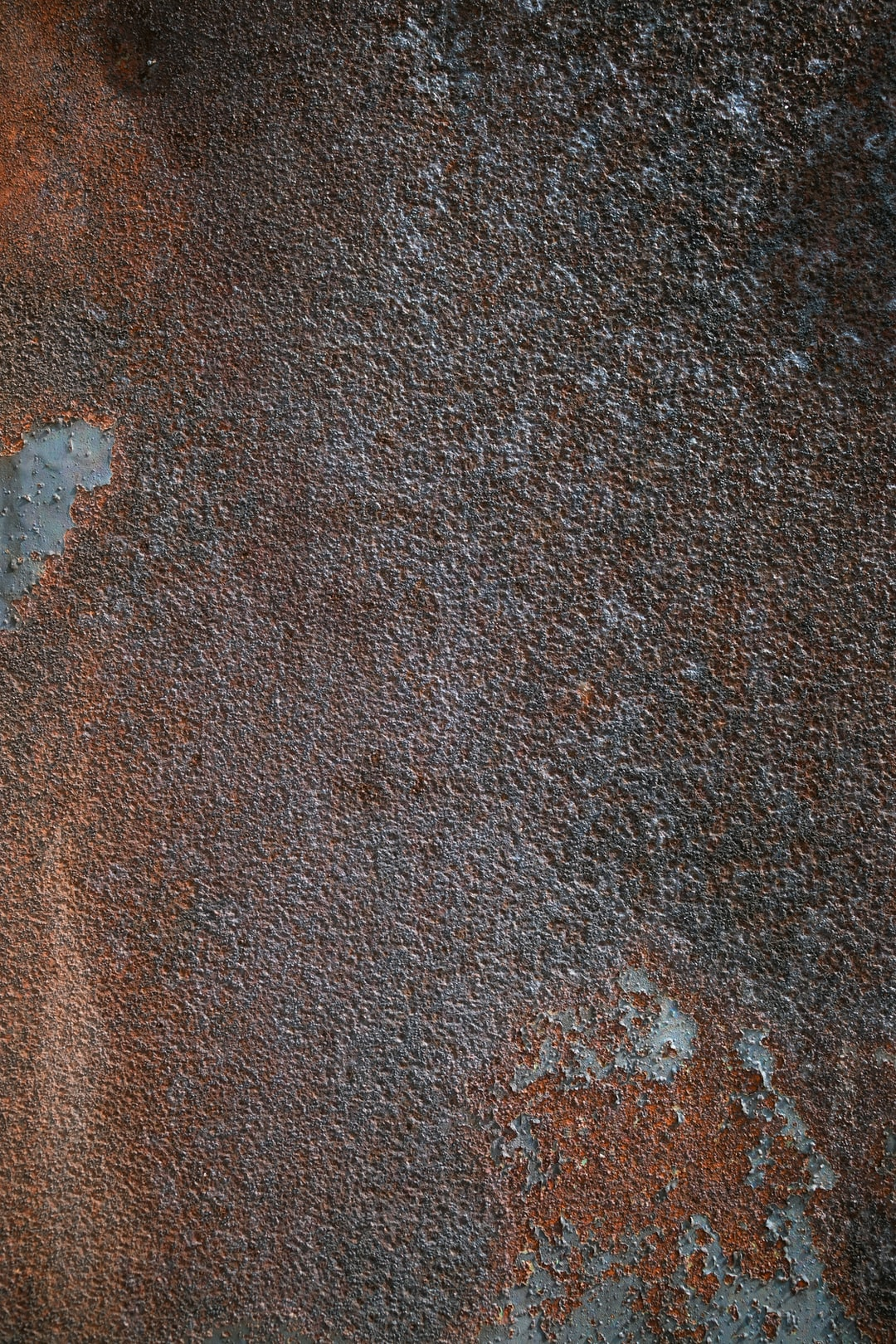 Rusty metal plate.  Background of rusty metal texture