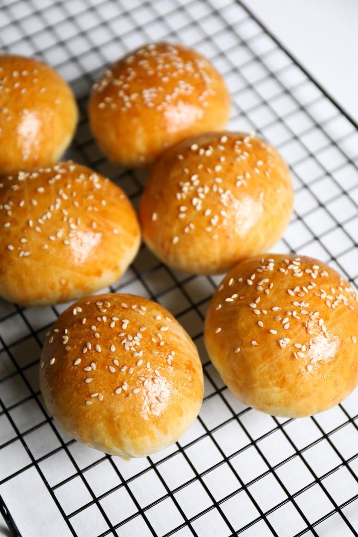 Cover Image for Sourdough burger buns