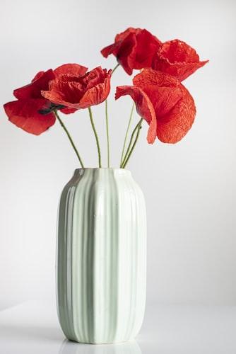 北欧 花 花瓶
