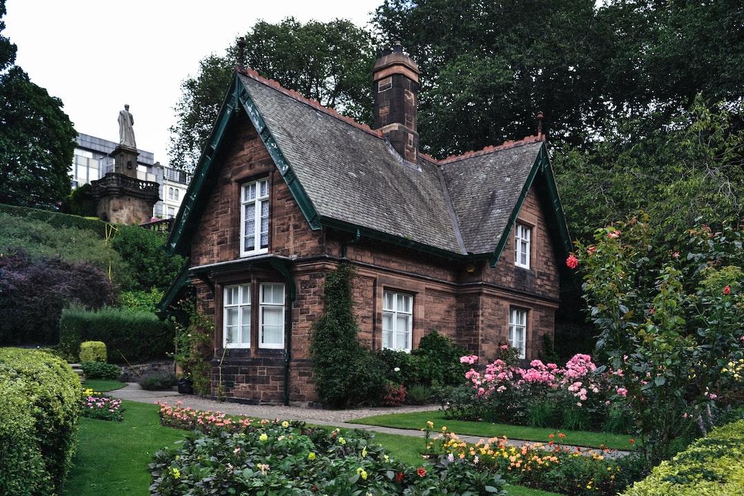 A charming house in Princes Street Gardens, Edinburgh