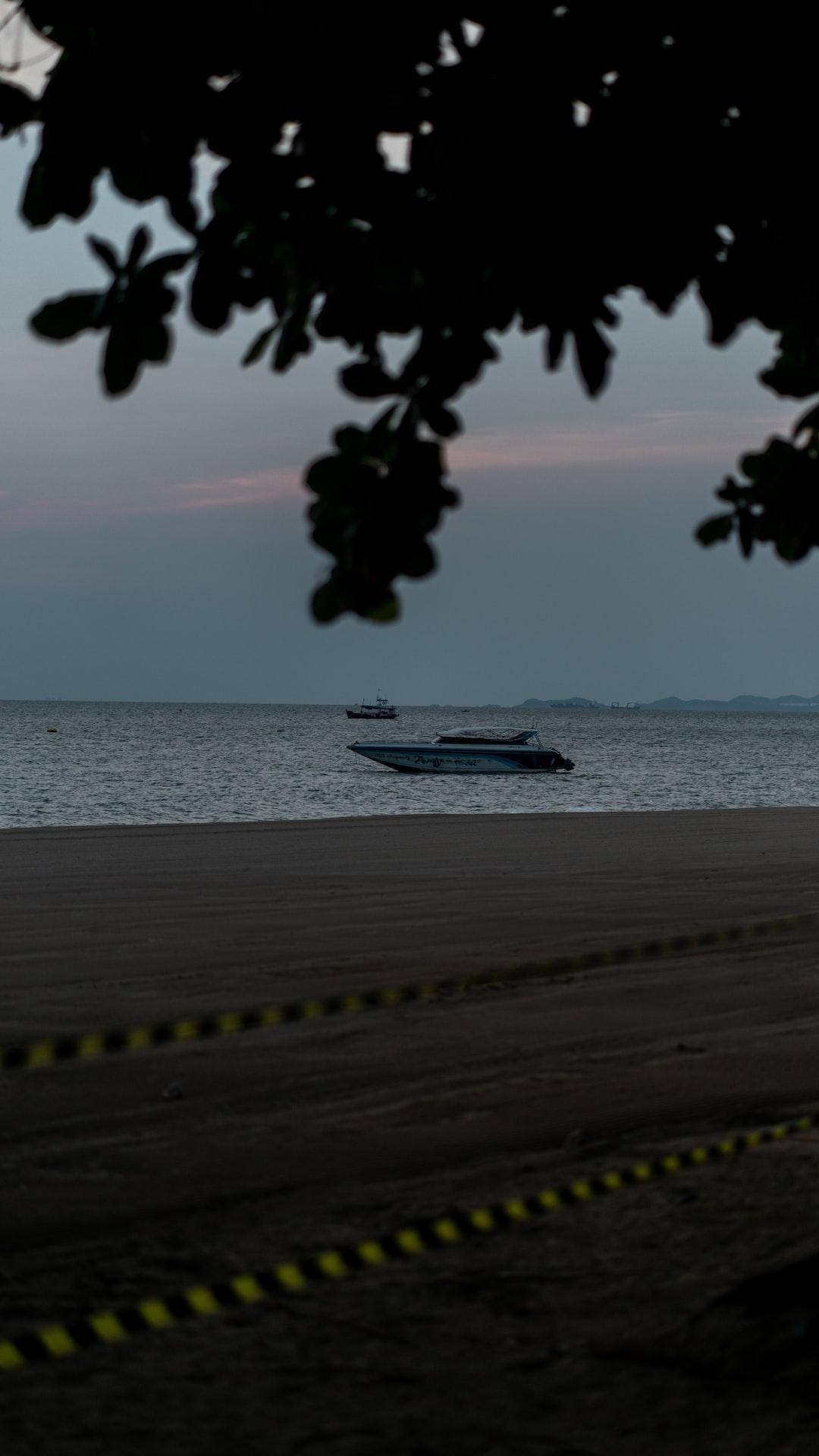Beach in Thailand Empty beach No people