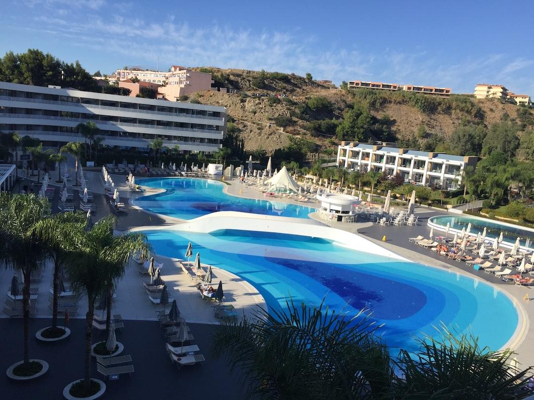 A sunny afternoon at the beautiful Princess Andriana Resort