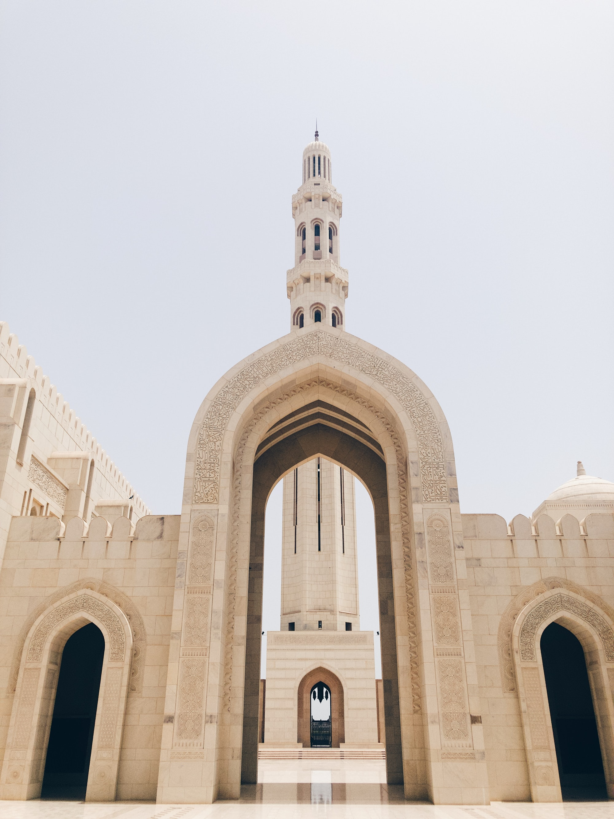 the grand mosque of Muscat, Oman