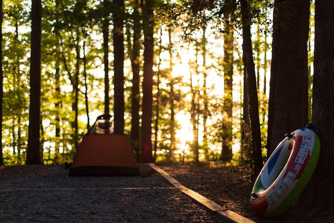 Summer lake campground