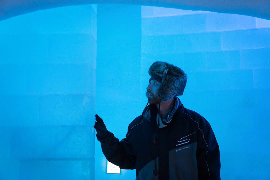 """Gazing at the ice wall"" I shot this in an igloo hotel in Sweden. -9 degrees inside, the sleepover was quite cold :)"