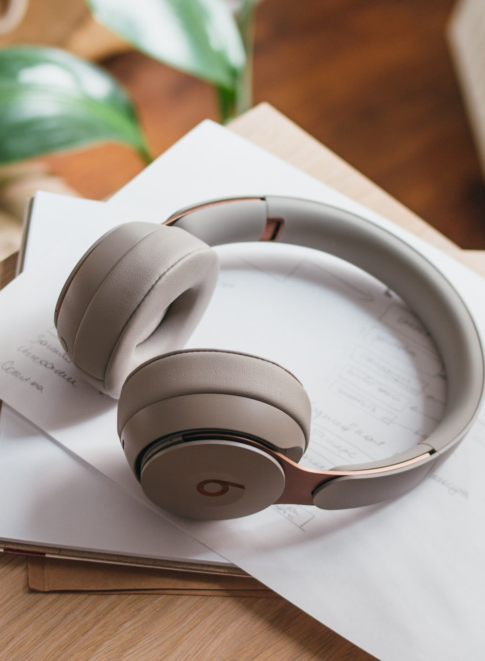 white and black beats by dr dre headphones