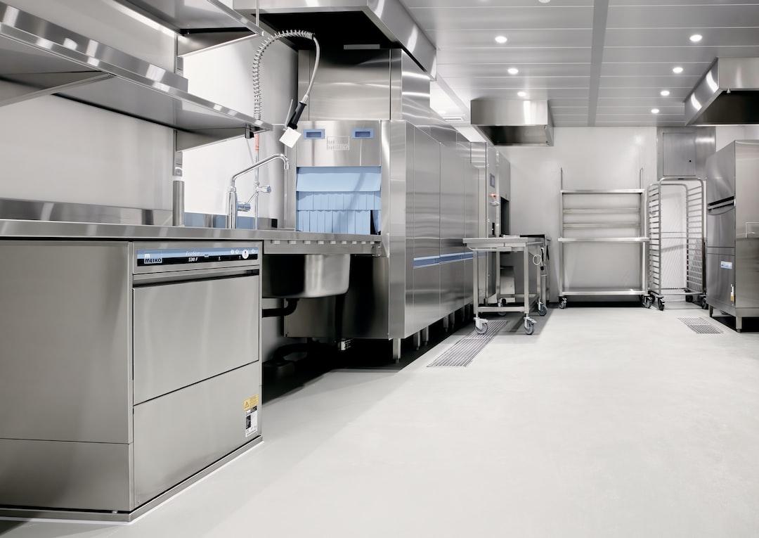 The empty kitchen