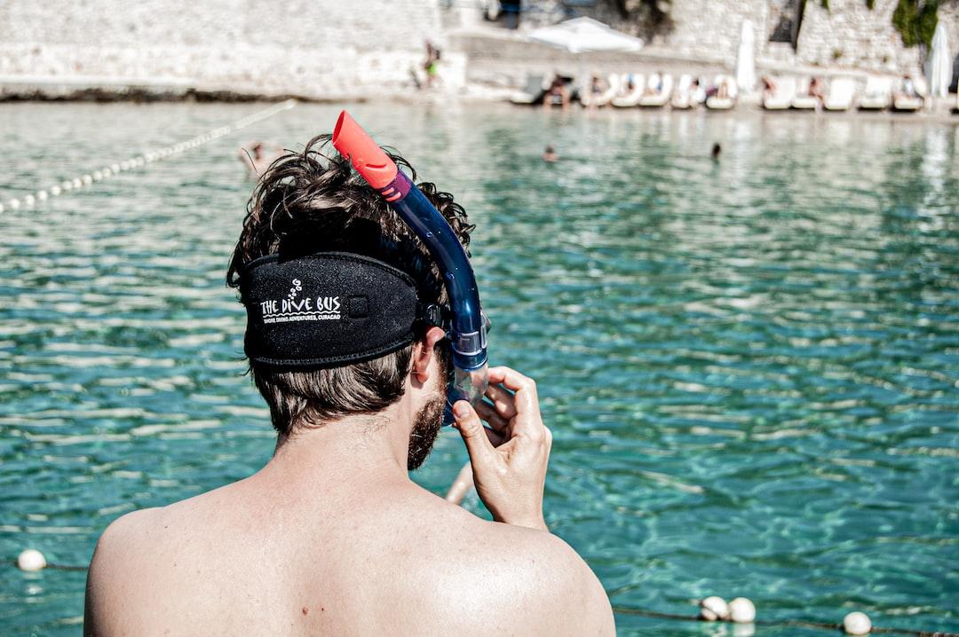 snorkling on the Adriatic sea.