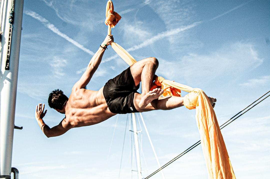 Acrobatics on board.