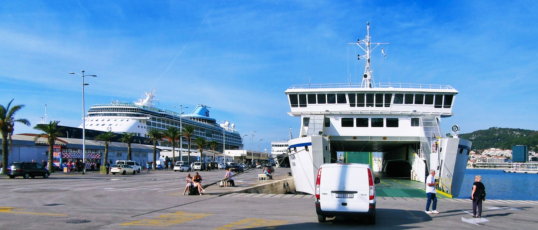 Image from Split ferry terminal & cruise ship port, Croatia